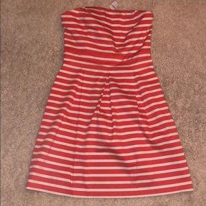 Brand new, strapless fun summer dress